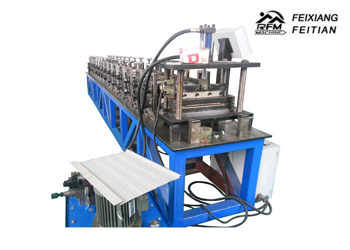 Safety Roll Forming Equipment 15 M/Min Speed Aluminium Roofing Sheet Making Machine