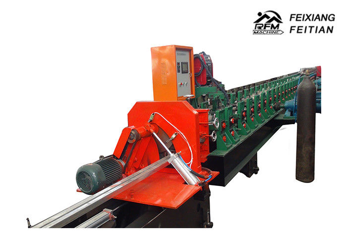 Durable Roll Forming Equipment Square Lock Flexible Stainless Steel Pipe Making Machine