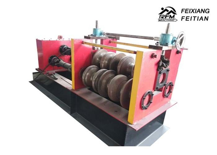Highway Guardrail Automatic Roll Forming Machines , Sheet Metal Crimping Machine