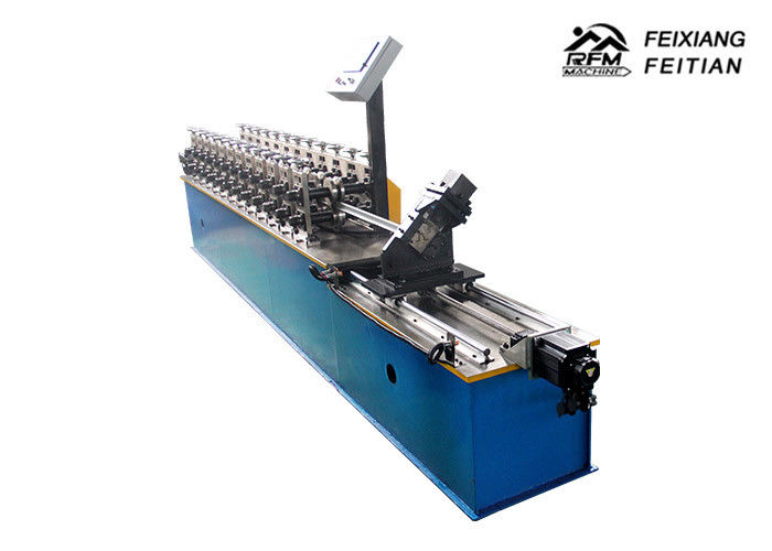 High Precision Metal Stud And Track Roll Forming Machine PLC Control System