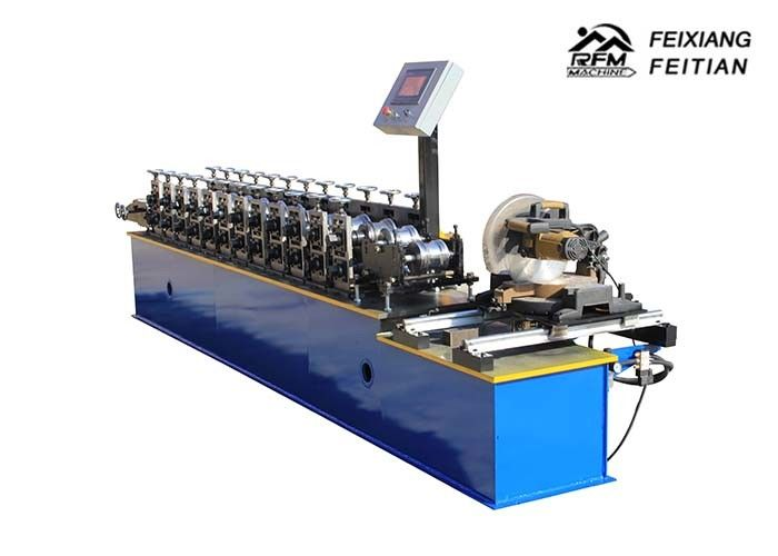 Roller Shop Steel Door Frame Making Machines 25m/Min Speed 5500*800*900mm Size
